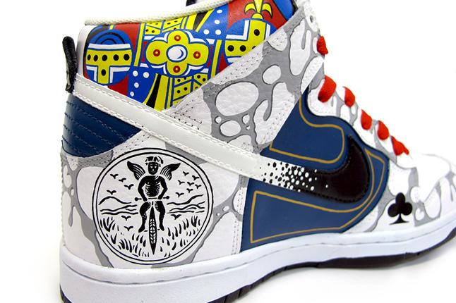 Sekure D custom Nike Dunk (Cosentino