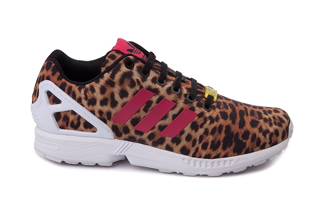 adidas flux leopard print womens