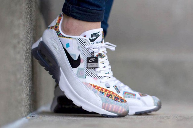 Nike Air Max 90 Liberty Ultra Essential WhiteBlack | SFMAG.RU