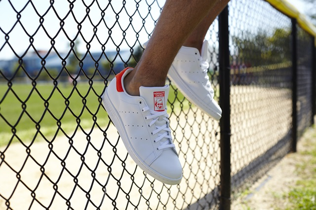 Stan Smith on foot