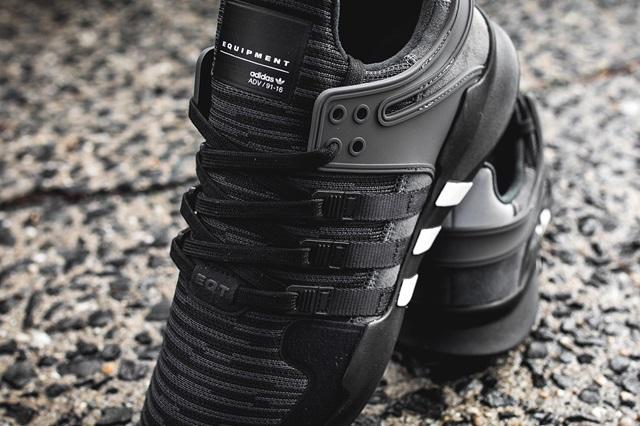 newest 81118 02651 adidas EQT Support ADV 91-16 'Core Black' | SFMAG.RU