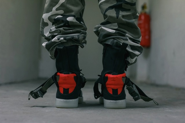 sports shoes 5b8de 24c80 ... An On-Foot Look at the ACRONYM x NikeLab Air Force 1 Downtown(3 ...