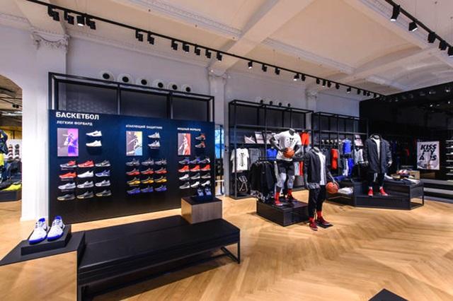 71dc364d В Москве открылся пятиэтажный магазин Nike | SFMAG.RU