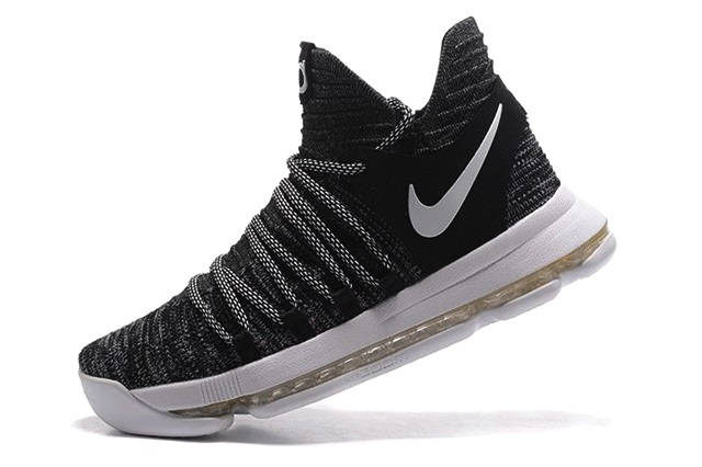 Cheap-Nike-KD-10-Shoes-Oreo-In-Black-White-Online-Sale-4