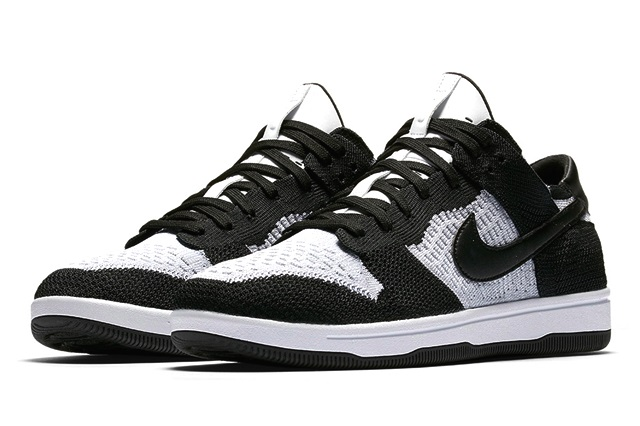 nike-dunk-low-flyknit-white-black-3