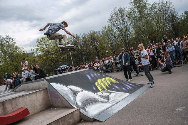 Скейтпарк в Парке Горького 2