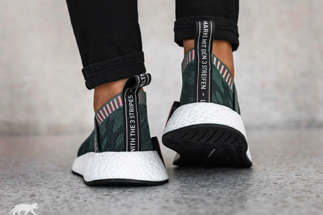 "2051bae63 NMD CS2 CITY SOCK PRIMEKNIT W ""TRACE GREEN"""