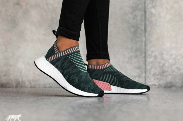 "0bc5ca25d3807 NMD CS2 CITY SOCK PRIMEKNIT W ""TRACE GREEN"""