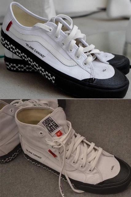 Off-White™ x Vans Black Ball и Black