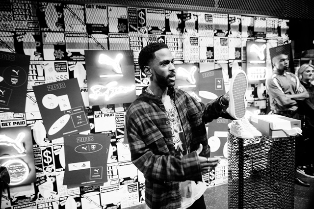 Big Sean at PUMA Booth (4) (1)