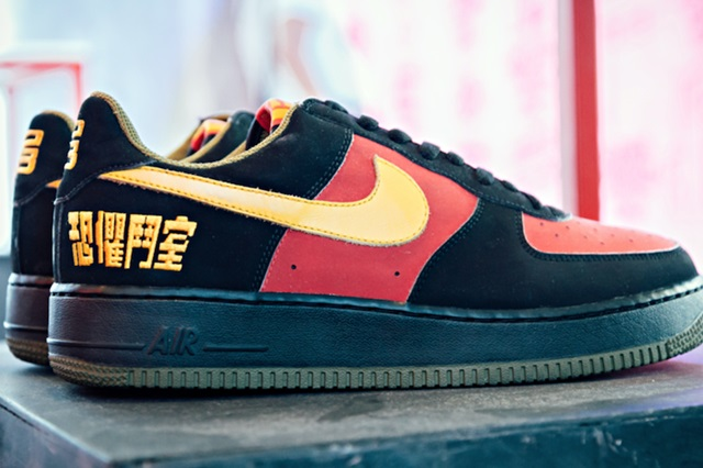 """Nike Air Force 1 """"Chamber of Fear"""" Pack"""