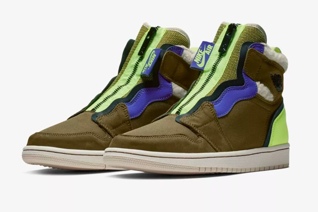Air-Jordan-1-WMNS-High-Zip-Olive-Flak-1