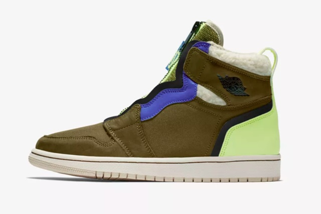 Air-Jordan-1-WMNS-High-Zip-Olive-Flak-2
