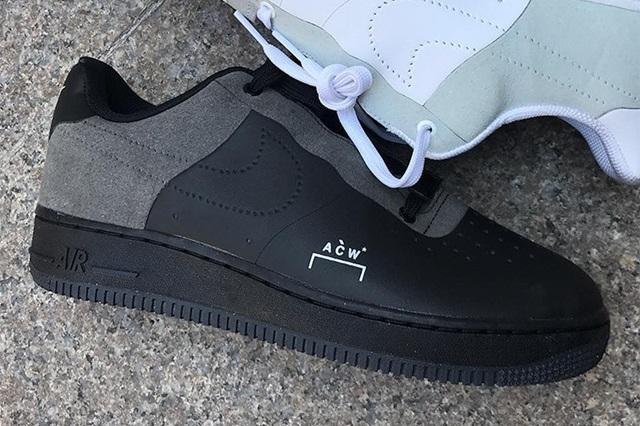 A-COLD-WALL* X Nike Air Force 1   SFMAG.RU