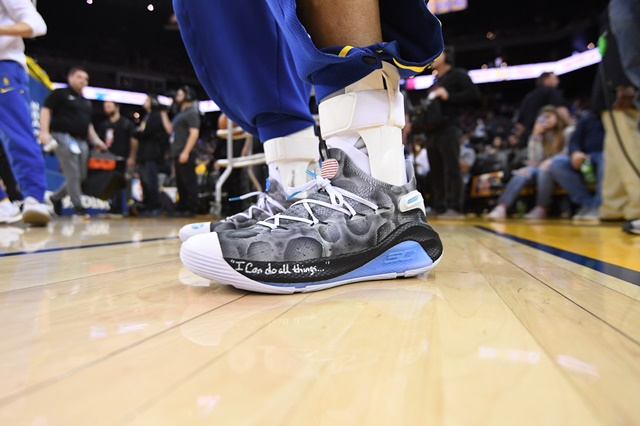 Stephen Curry Moon Landing Under Armour Curry 6_Close up 1