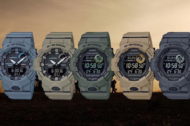 Casio-G-Shock-GBA-800UC-series